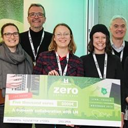 "Read more at: PhD students from the Structures group win ""Zero Carbon Hackaton"""