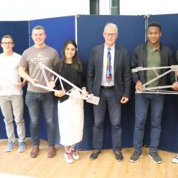 1st Year Structural Design Course Prize Ceremony